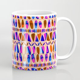 Abstract Tribal Stripe Coffee Mug
