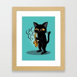 Saxophone Framed Art Print