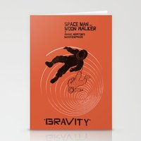 gravity Stationery Cards featuring GRAVITY by Resistance