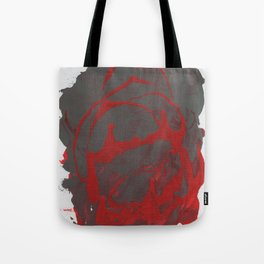 The Red Grey Abstraction. Tote Bag
