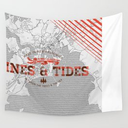 Between The Trees & The Seas Wall Tapestry