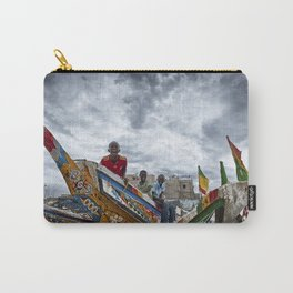 Playful Ship Captain and Mates Carry-All Pouch