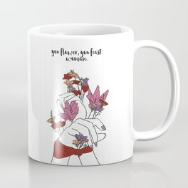 flower and feast Coffee Mug