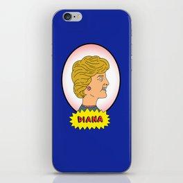 Diana & Charles iPhone Skin