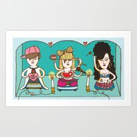 Idol Worship Art Print