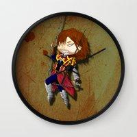 castlevania Wall Clocks featuring I break in like a belmont!!! by Laharl