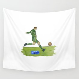 Time to Strike Wall Tapestry