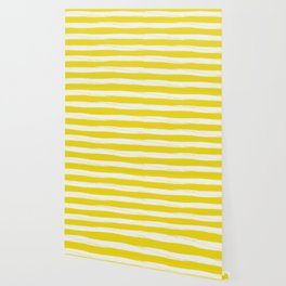 rusty yellow gross stripes Wallpaper