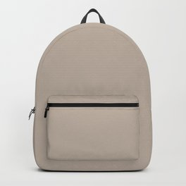 Light Beige Solid Color Pairs with Sherwin Williams Heart 2020 Forecast Color - Diverse Beige SW6079 Backpack