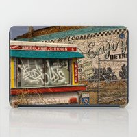 detroit iPad Cases featuring Enjoy Detroit by AlfesDesigns