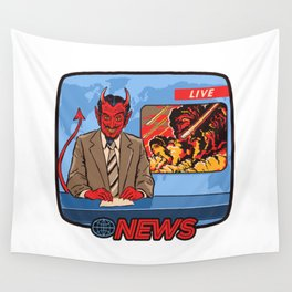 BREAKING NEWS Wall Tapestry