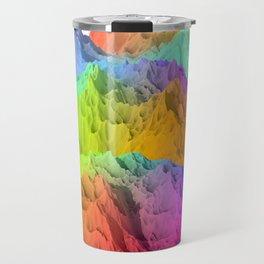 Holopunk Mountains Travel Mug