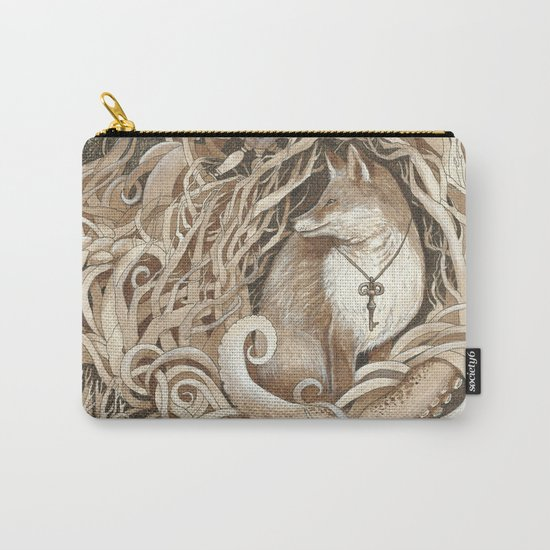 The Fox and the Sea Carry-All Pouch