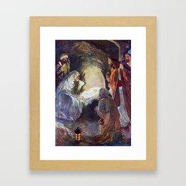 Baby Jesus Framed Art Print