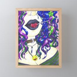Lolipop Framed Mini Art Print