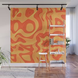 Orange: The Fun Color Wall Mural
