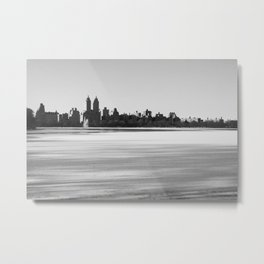 New York Snowscape Metal Print