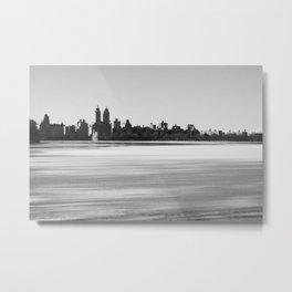 New York Snowscape Metal Print