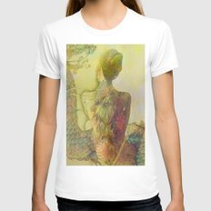 The guard of the eternal dragon White Womens Fitted Tee MEDIUM