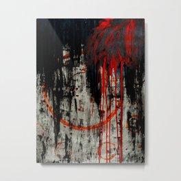 Fade to black Metal Print