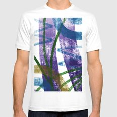 walk in tall grass Mens Fitted Tee White MEDIUM