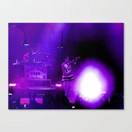 Concert of Purple Canvas Print