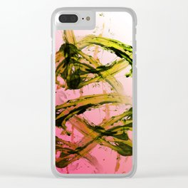 Kiwi Chaos Clear iPhone Case