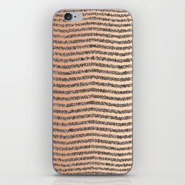 Zigzag Tan Gradient iPhone Skin