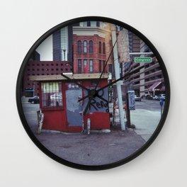 no refu Wall Clock