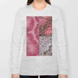 Gem Stone  Wall Decor Long Sleeve T-shirt