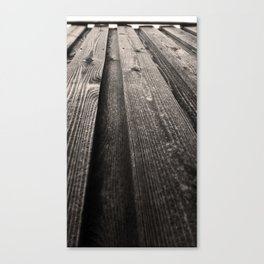 Vertical Grains Canvas Print