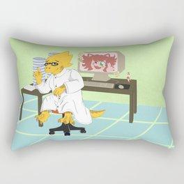 Alphys Rectangular Pillow