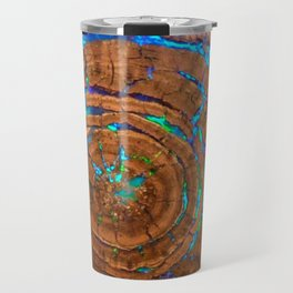 Sea of blue opal Travel Mug