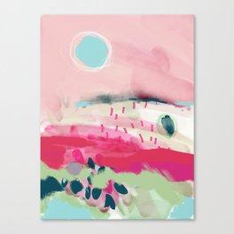 spring dream landscape Canvas Print