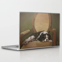 downton abbey Laptop & iPad Skins featuring Abbey by Ambre Wallitsch