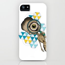 Aliens Are Watching iPhone Case