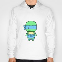 leonardo Hoodies featuring Leonardo by broflo