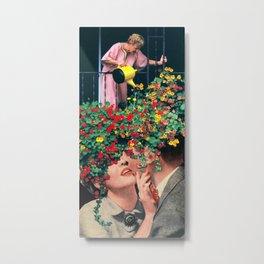 Growing Love Metal Print