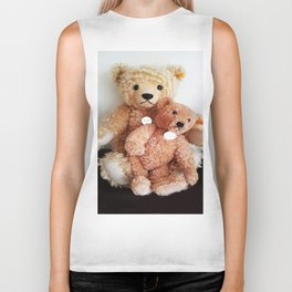 I Love Teddy Bears Biker Tank