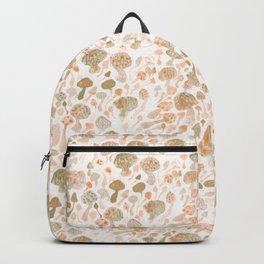 Mushrooms Watercolor Backpack