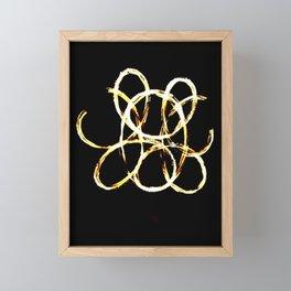 Fire Diddly Framed Mini Art Print