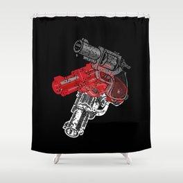 POP GUN Shower Curtain