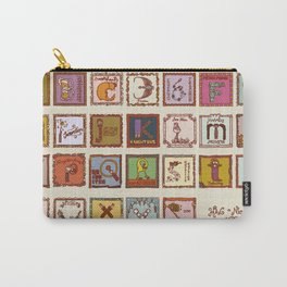 wizard alphabet Carry-All Pouch