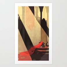 Lamentation of a Widowed Queen Art Print