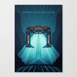 A Digital Frontier Canvas Print