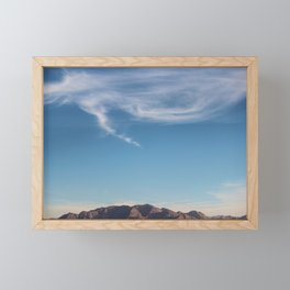 Blue Skies Framed Mini Art Print