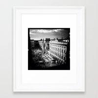 milan Framed Art Prints featuring milan by Leone Von Dizic