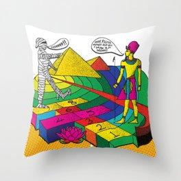 The mummy returns!  Throw Pillow