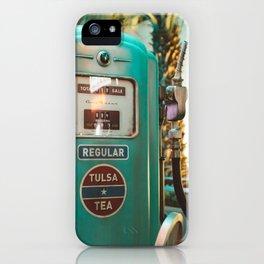 Vintage oil iPhone Case