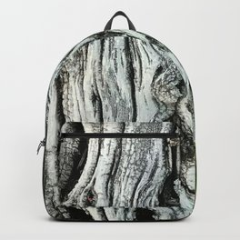 Exquisite Tree Trunk and Leaves Fine Art Photo Backpack
